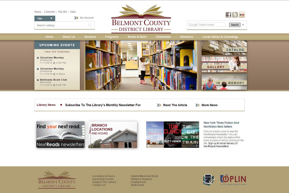 Belmont County District Library - The Ridgefield Group